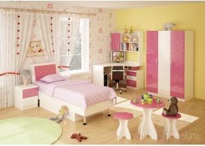 Детская Ниагара розовая