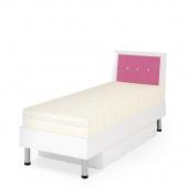 Кровать Ниагара розовая