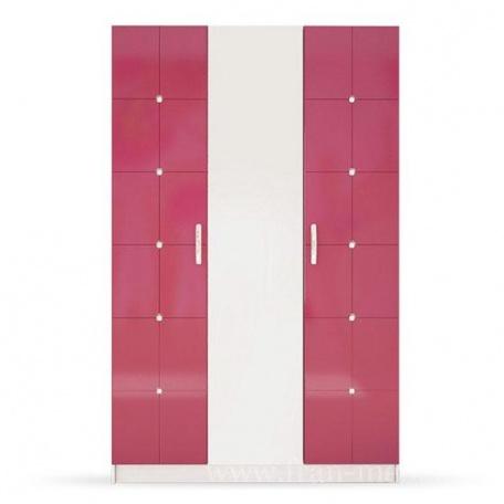 Шкаф Ниагара розовая
