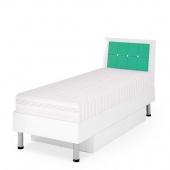 Кровать Ниагара салатовая