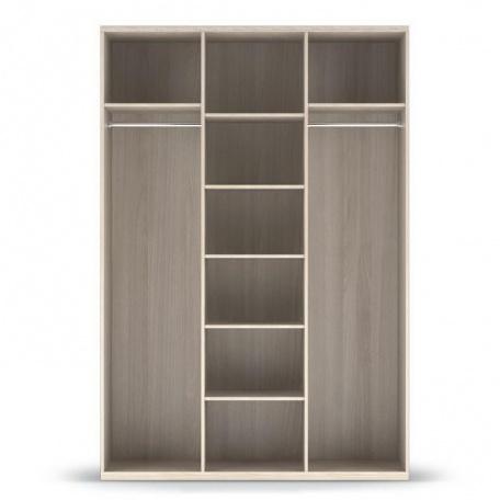 Шкаф 3-х дверный (корпус) Сорренто