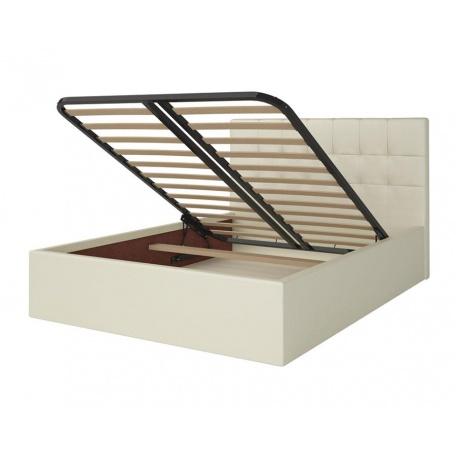Кровать 1600 Находка кремовая с подъёмным механизмом