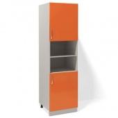 Шкаф (пенал) Т-2890 Комфорт оранжевый