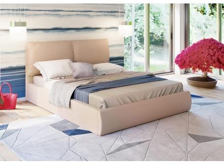 Кровать Камилла бежевая