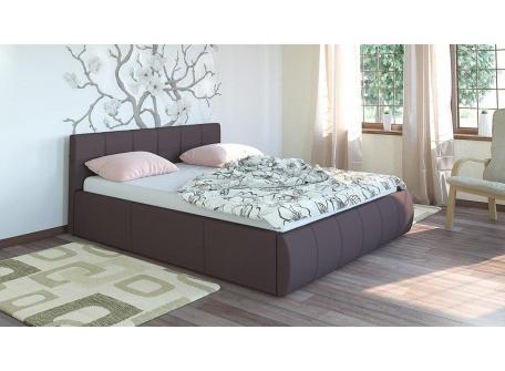 Кровать Афина тёмно-коричневая