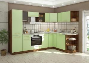 Кухня Арина салатовая