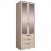 Шкаф двухдверный Орион с зеркалами и  ящиками