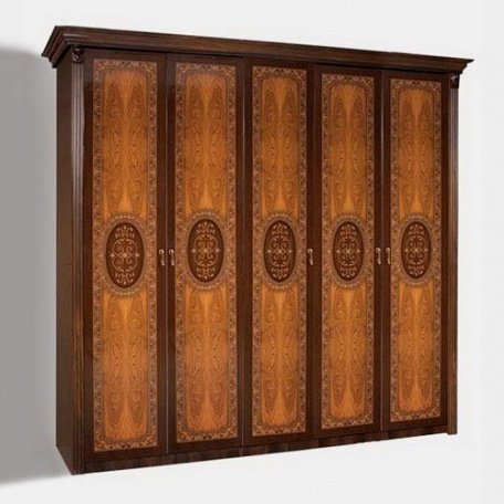 Шкаф 5-ти дверный Карина-2