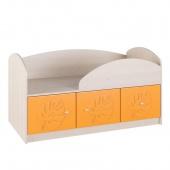 Кровать 114см Маугли оранж