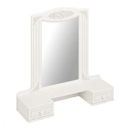 Зеркало с ящиками Ассоль белая