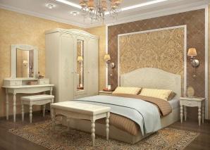 Спальня Ассоль ваниль