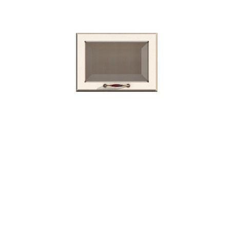 Полка-витрина/360 Барбара люкс слоновая кость