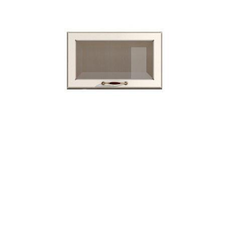 Полка-витрина 600/360 Барбара люкс слоновая кость