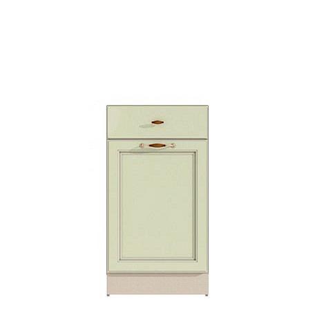 Стол 400 (1 ящ.+1 дв.) Барбара люкс салатовая