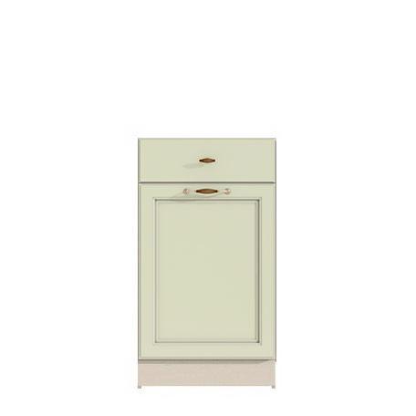 Стол 450 (1 ящ.+1 дв.) Барбара люкс салатовая