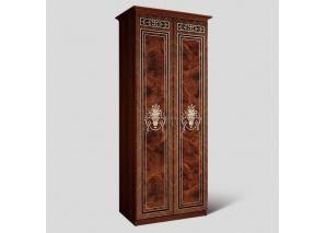 Шкаф 2-х ств. для платья Карина-3 орех