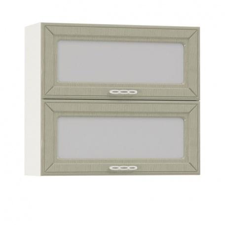 Шкаф-витрина горизонтальный Маргарита 800 (2 витрины)