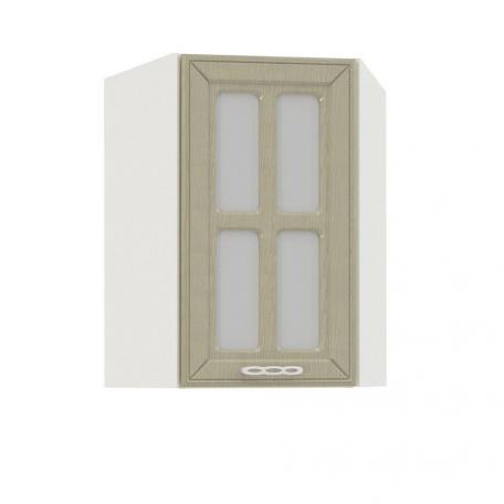 Шкаф-витрина угловой Маргарита 600х600