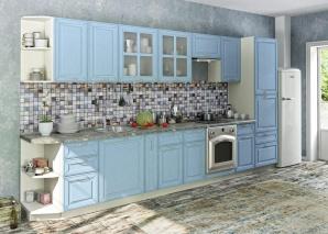 Кухня Маргарита голубая