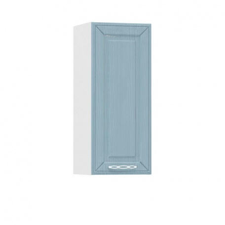 Шкаф навесной 300 Маргарита голубая