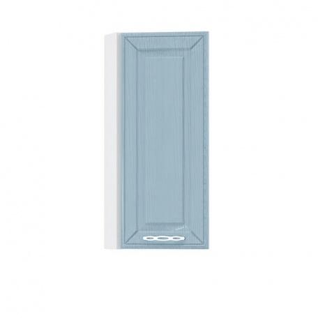 Шкаф торцевой 300 Маргарита голубая