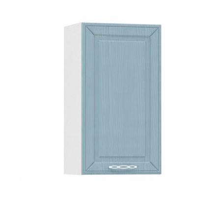 Шкаф навесной 400 Маргарита голубая