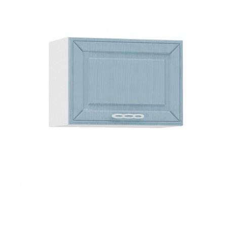 Шкаф горизонтальный 500 Маргарита голубая (1 дверь)