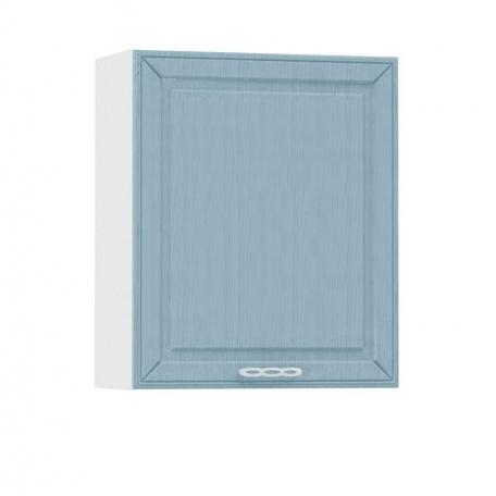 Шкаф навесной  600 Маргарита голубая (1 дверь)
