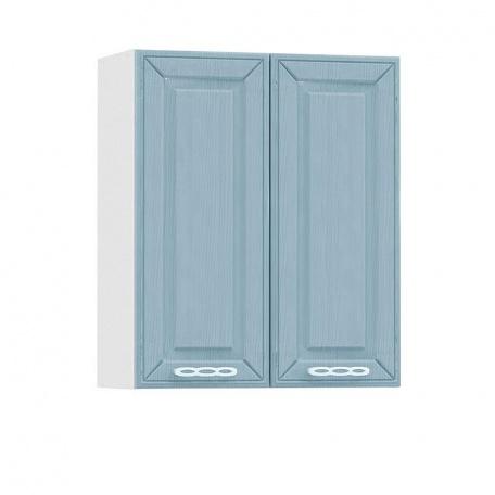 Шкаф навесной 600 Маргарита голубая (2 двери)