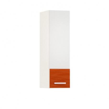 Шкаф навесной 200 Жанна оранжевая