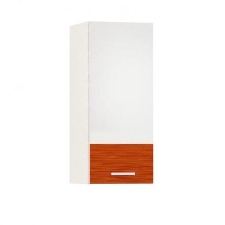 Шкаф навесной 300 Жанна оранжевая
