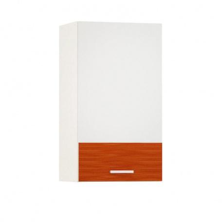 Шкаф навесной 400 Жанна оранжевая