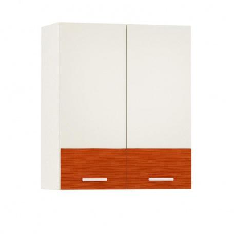 Шкаф навесной 600 Жанна оранжевая (2 двери)