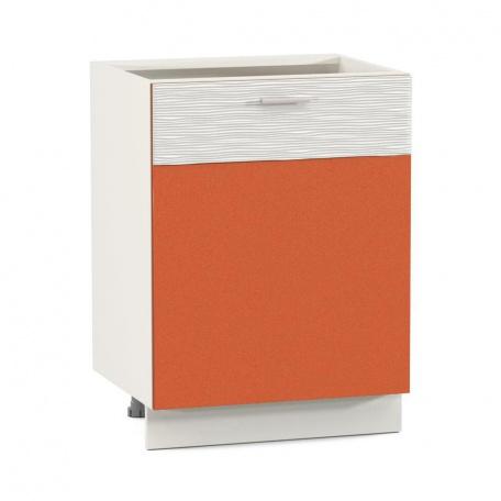 Стол 600 Жанна оранжевая (1дверь)