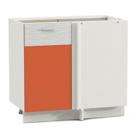 Стол 1000 Жанна оранжевая угловой