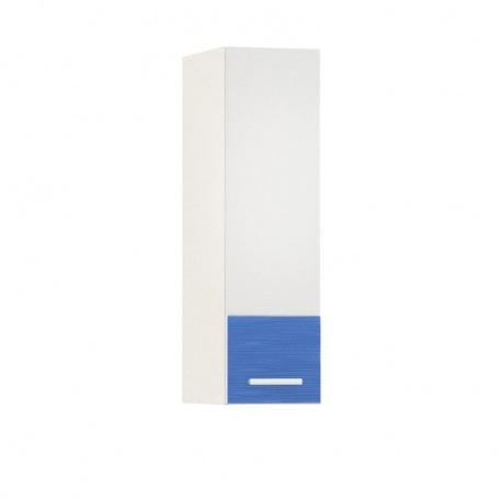 Шкаф навесной 200 Жанна голубая