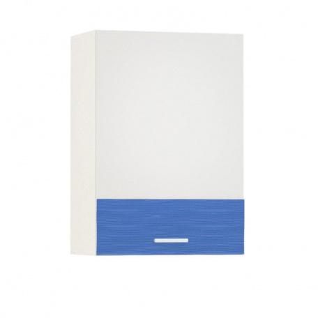 Шкаф навесной 500 Жанна голубая