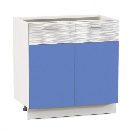 Стол 800 Жанна голубая