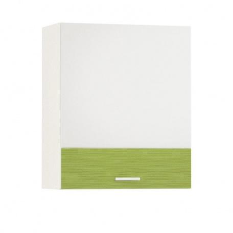 Шкаф навесной  600 Жанна олива (1 дверь)