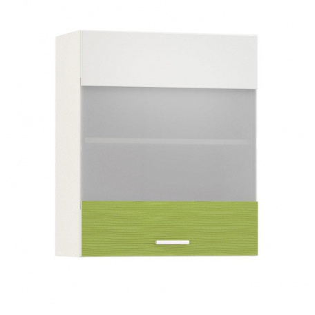 Шкаф-витрина 600 Жанна олива