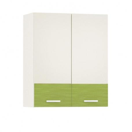 Шкаф навесной 600 Жанна олива (2 двери)