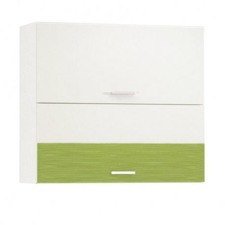 Шкаф горизонтальный 800 Жанна олива (2 двери)