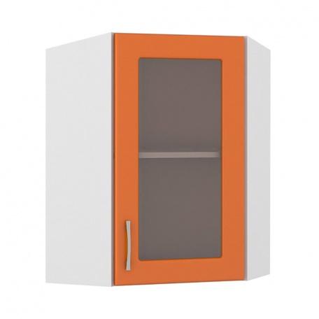 Шкаф-витрина угловой Сандра