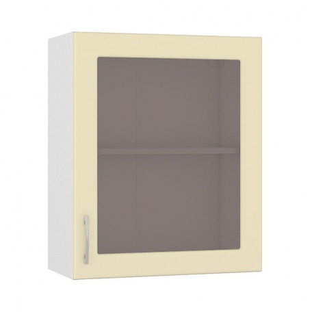 Шкаф-витрина 600 Сандра ваниль