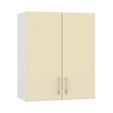 Шкаф навесной 600 Сандра ваниль (2 двери)
