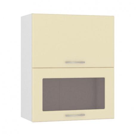 Шкаф горизонтальный 600 Сандра ваниль (1 гл.дверь