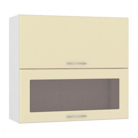 Шкаф горизонтальный 800 Сандра ваниль (1 гл.дверь