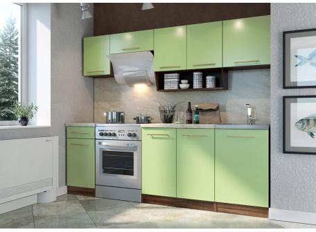 Кухня Арина 2300 салатовая