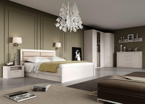 Спальня Элана бодега белая вид-1