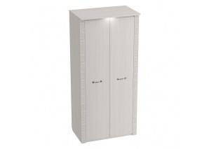 Шкаф 2-дверный Элана бодега белая
